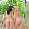True Barely Legal Teen Twins Spreading Their Pussy