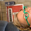 Ally Kay Nerdy Girl Calling 911 For Emergency Fuck
