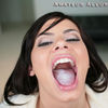 Nadia Deep Throating Cock For A Tasty Surprise