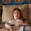 Mature Milf Celeste In Stockings Vibrator Hairy Pussy And Sq...