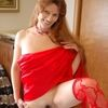 Mature MILF Celeste In Stockings Double Penetrated Dildo Act...