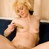 Skinny And Mature Housewife With Small Tits Spreads Hairy Pu...