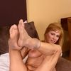 Mature Housewife Shows Her Pantyhose Covered Milf Pussy