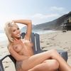 Blonde Bombshell Taylor Senturier Teases Naked At The Beach