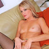 Blonde Milf Enjoys Pleasuring Her Mature Pussy With Sex Toys