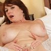 Mature Housewife With Big Milf Tits Wears Stockings And Heel...