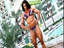 Truly Huge Female Bodybuilder Bikini